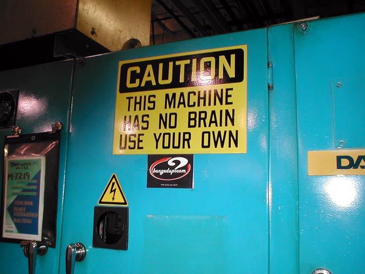 Machine Warning
