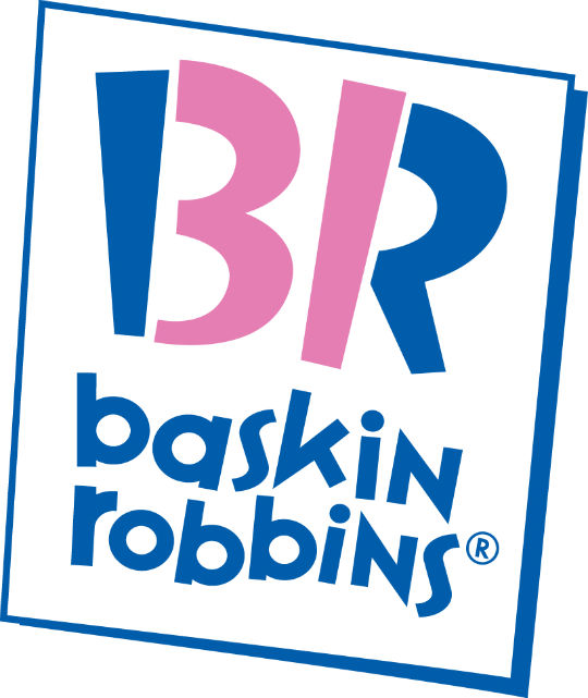 baskin robbins hidden message logo