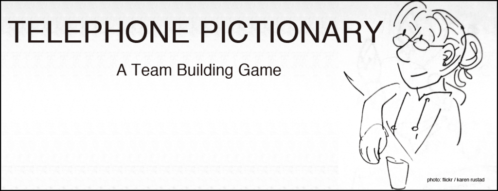 telephone pictionary game