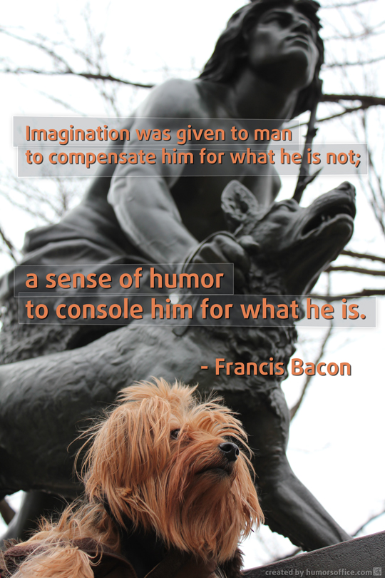 humor quotation francis bacon