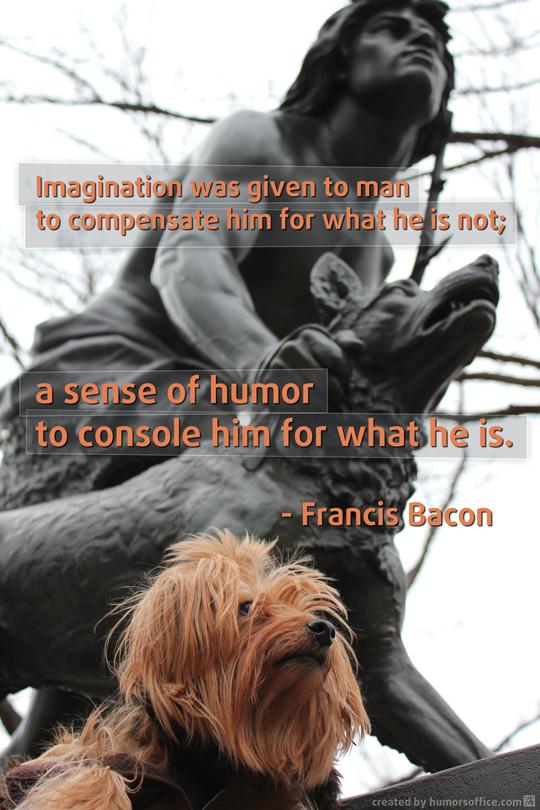 humor quotation francis bacon