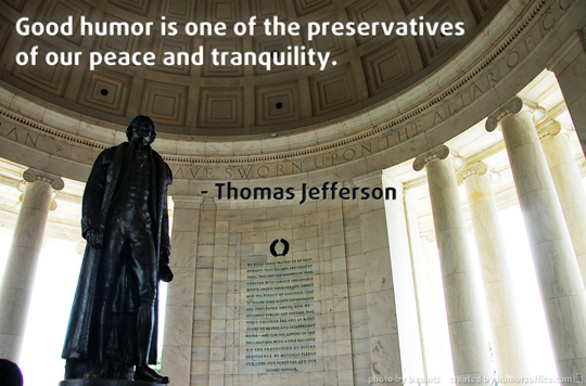 humor quotation thomas jefferson