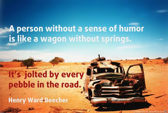 humor quotation henry ward beecher