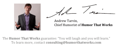 humor that works signature