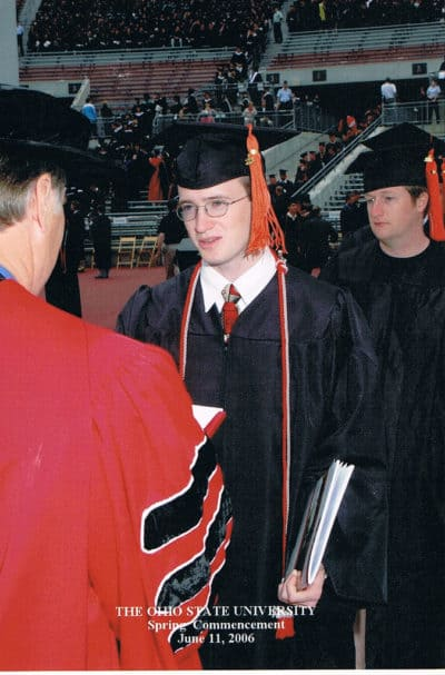 awkward graduation picture