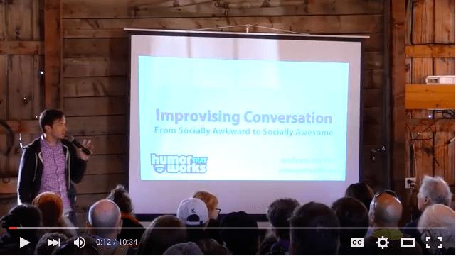 improvising conversation