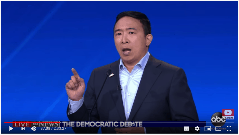 Andrew Yang knows a lot of doctors.