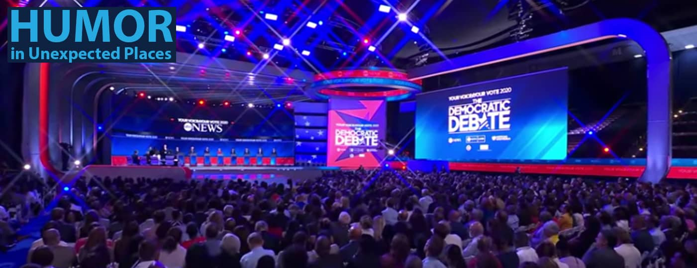 humor at the democratic debates