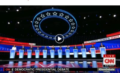 humor democratic debates october 2019