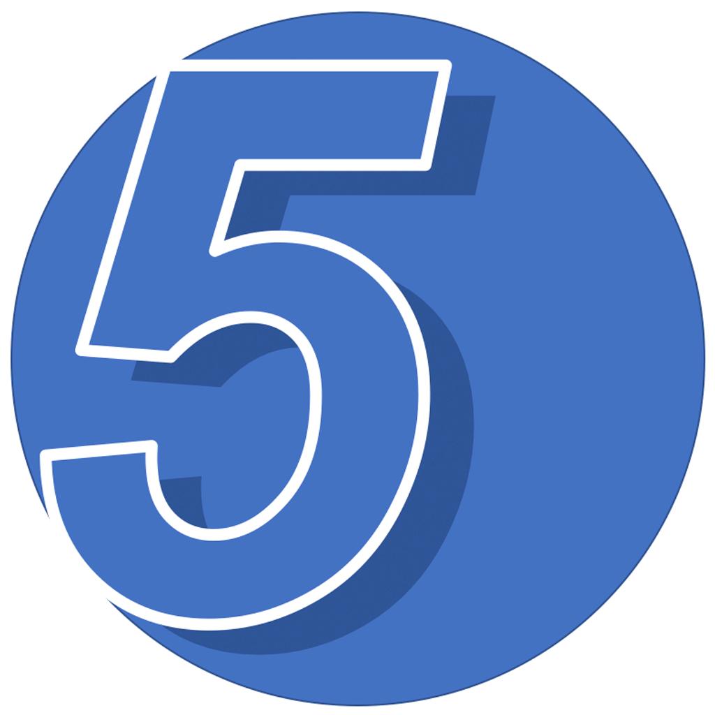 5 Daily Habits Icon