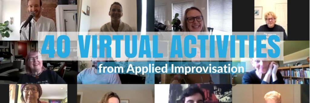 virtual activities applied improv
